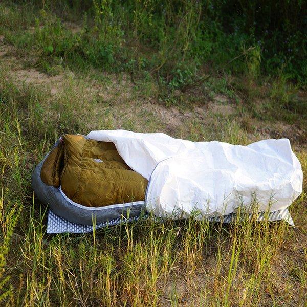 3F UL VITESSE TYVEK Sacs de couchage Camping Sac étanche Ventiler étanche à l'humidité Réchauffement Chaque doublure intérieure sale Bivouacs Sac C18112601