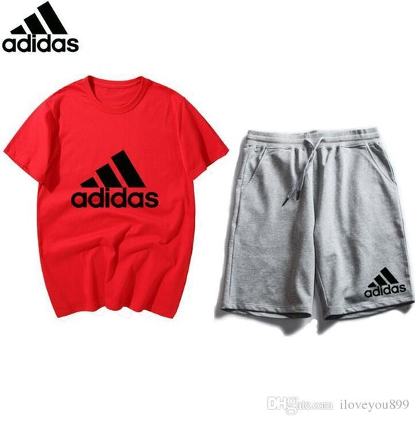 TRAD s-3xl Leisure printing Summer Short Sleeve Hip Hop T Shirt set Men/Women high quality Tracksuits