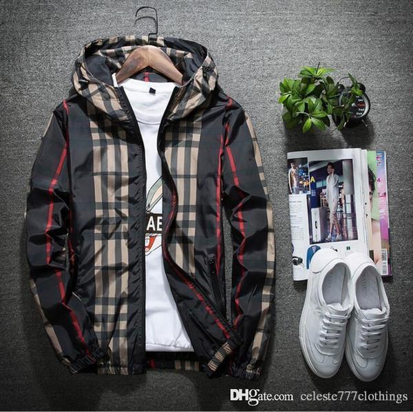 nouveaux hommes veste mince printemps casual zipper capuche manteaux hommes sweat à capuche coupe-vent jeunesse street style tendance hommes et femmes les deux vêtements de printemps