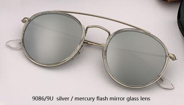 Espelho de prata / mercúrio 9086 / 9U