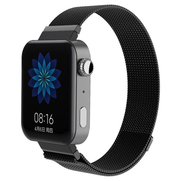 Milanese loop bracelet for smart watch Stainless Steel Link watchband Magnetic buckle for mi watch strap Accessories