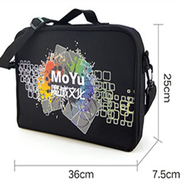 Moyu Cubo Saco 36 * 25 * 7.5 cm Tamanho Sacos de Ombro Preto para o Enigma Mágico Cube 2x2 3x3 4x4 5x5 6x6 7x7 8x8 9x9 10x10 todos os brinquedos de Camada
