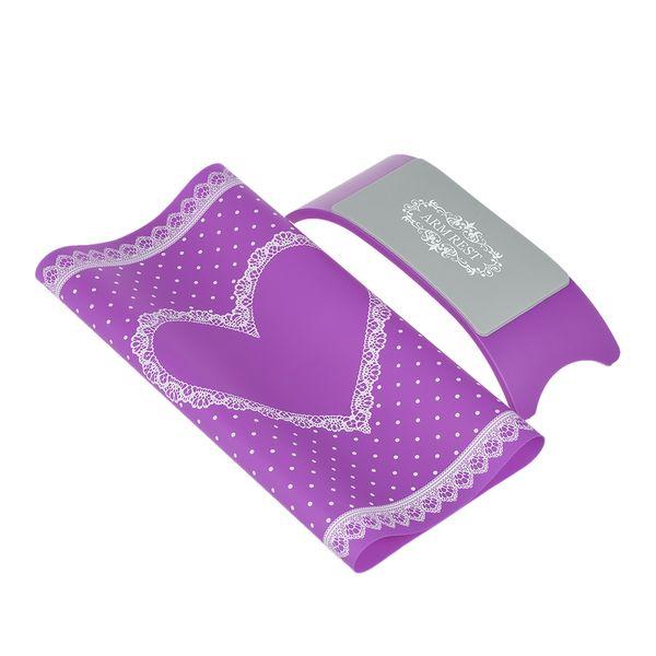 1 juego de almohada de silicona lavable, almohadilla de mesa plegable, arte de uñas, cojín, almohadilla, reposabrazos, herramienta de manicura, blanco