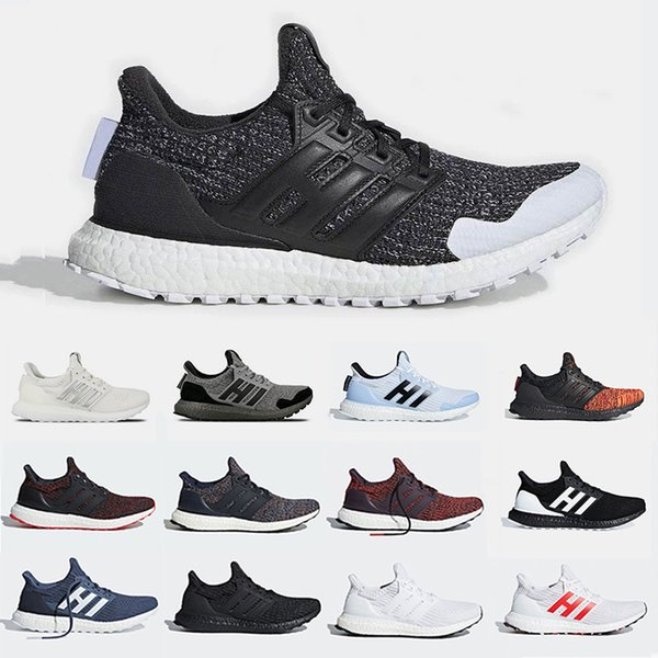 New Arrival Game of Thrones Ultra 4.0 Running shoes Noble Red Night's Watch Grey White Burgundy sports sneakers