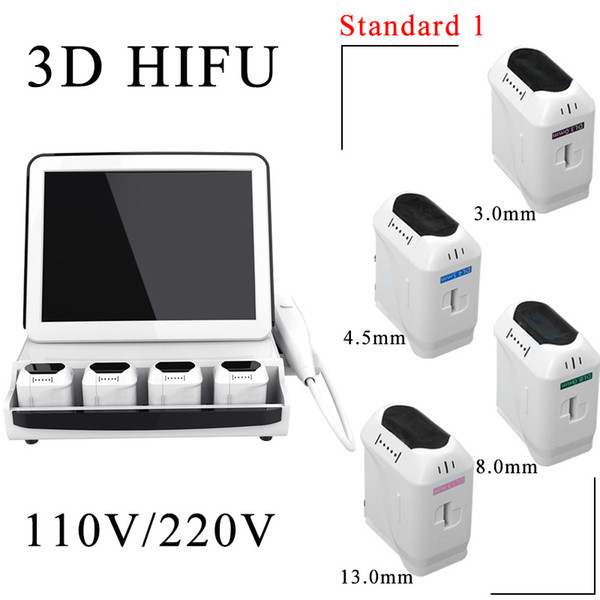 3D HIFU with 4 Cartridges