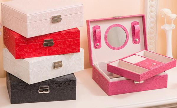 New Make up Storage Jewelry Box,Storage Boxes for Home Decoration,caixas de armazenamento organizador,Storage Box Organizer