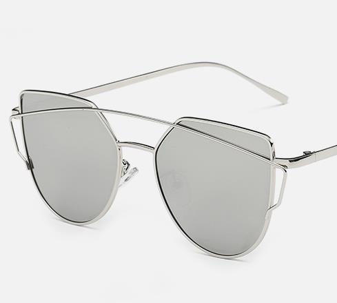 2019 Mode Farbfilm großen Rahmen Gesicht Sonnenbrille Frauen Flut Brille