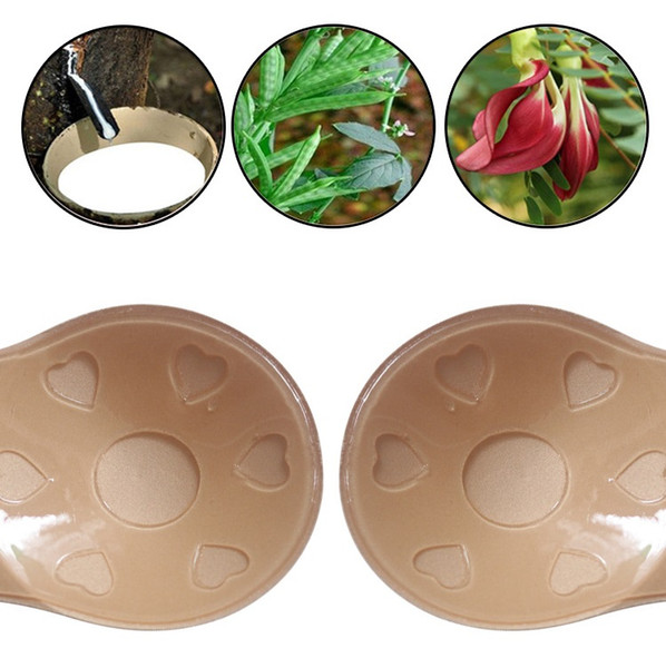 Hot Push Up Bra Strapless Invisible Bra Self Adhesive Silicone Nipple Cover Stickers Rabbit Ear Chest-lifting Stickers Lifting Chest Stick