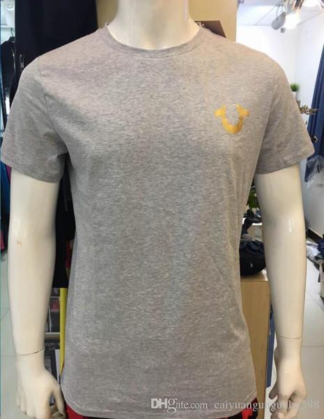 T2 Haute Qualité USA Rouge Noir Blanc Hommes Robin Jeans True Crew Polo T-shirt avec des ailes Real American Jeans Slim Mtorcycle club manches courtes