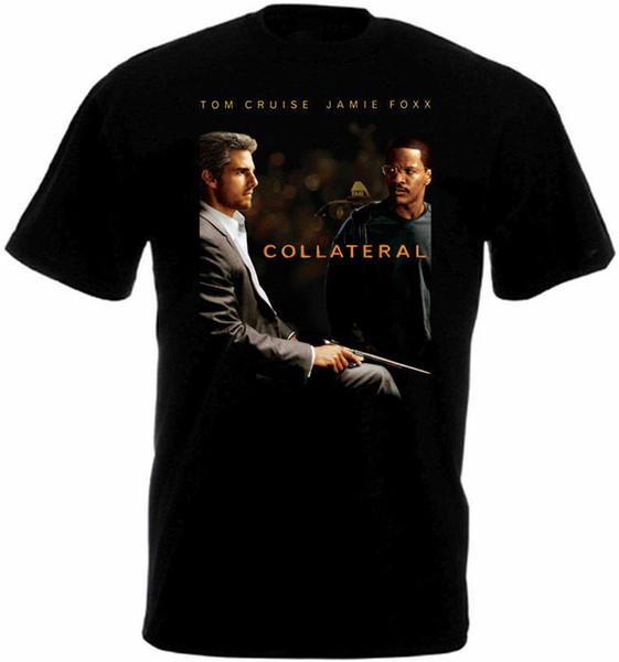 Collateral V1 T-Shirt Schwarz-Plakat Alle Größen Kostenloser Versand Lustige Topstee Hemd