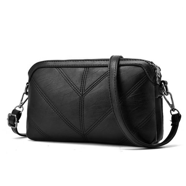 Crossbody Bags For Women Leather Handbags Vintage Women Pu Leather Shoulder Bag Flap Soft Messenger Bag Purses And Handbags