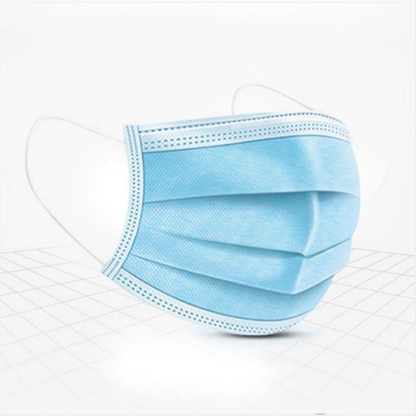 3 Ply Blue Masks