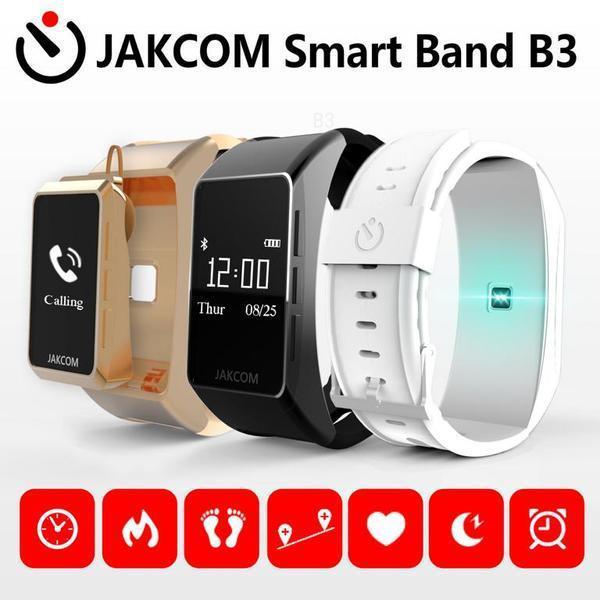 JAKCOM B3 relógio inteligente venda quente em pulseiras inteligentes como atividades de praia x com vídeo computador