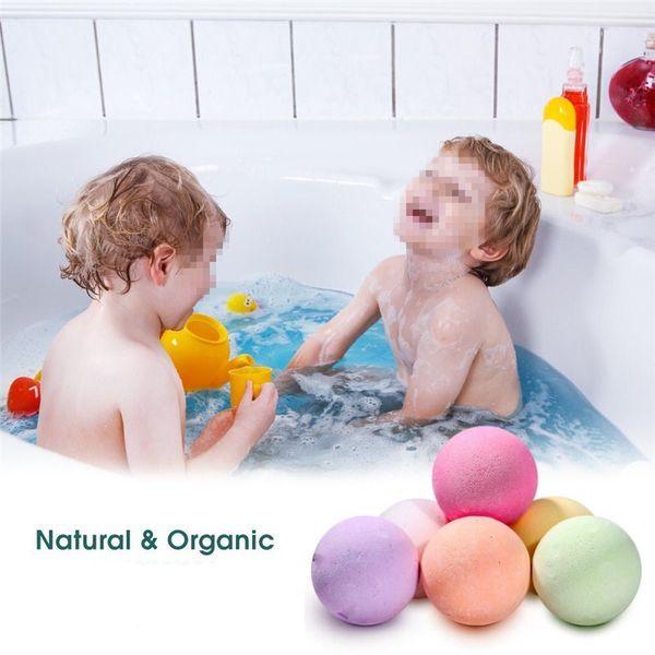 20g di piccole dimensioni bagno organico bomba corpo massaggio rilassante olio essenziale palla da bagno bolla detergente per il corpo bombe da bagno regalo colore casuale SH190729