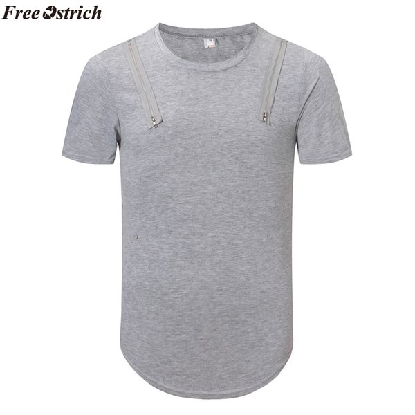 Verano Hombres Algodón Color sólido Camiseta de manga corta O-cuello Hombre Cómodo Casual Loose Fitness Camisetas Tops