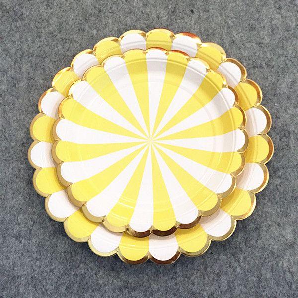48pcs mélange de jaune