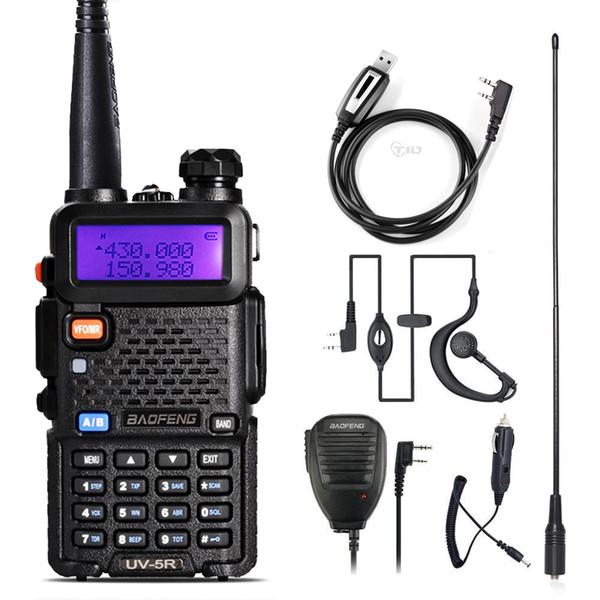 BaoFeng UV-5R Funksprechgerät Zwei-Wege-CB-Radio Upgrade-Version Baofeng UV5R 128CH 5W VHF UHF 136-174MHz 400-520MHz