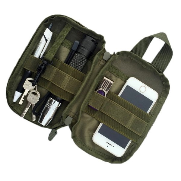 1000D Tactical Waist Bag Outdoor Sport Molle Military Waist Fanny Pack Mobile Phone Case for SAMSUNG Sport Bag #853259