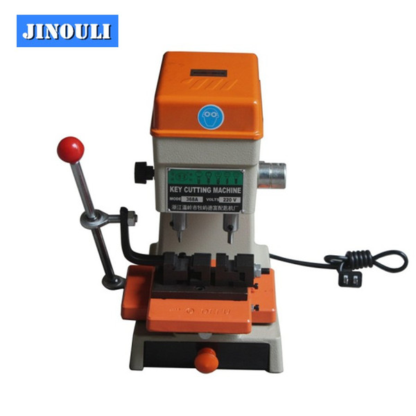 2018 DHL Free shipping Best Offer 368A Key Cutting Duplicated Machine Locksmith Tools Key Machine 200W Best Quality Low Price
