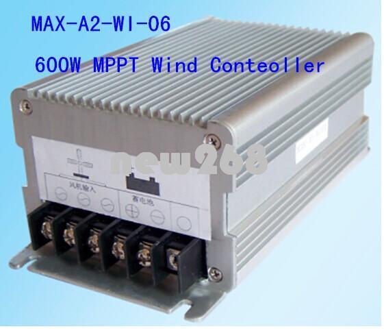 Freeshipping new 600W 12V/24V Auto Wind Power MPPT Charge Controller,wind generator charge controller Wind Turbine Generator Controller