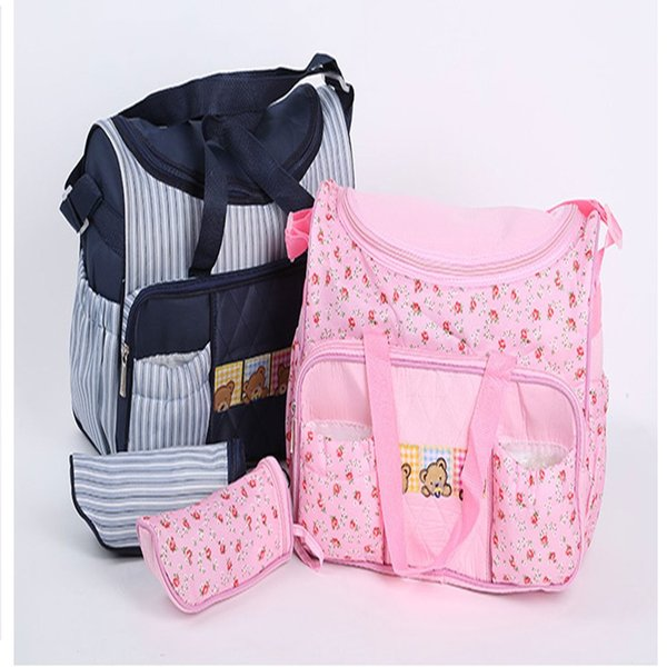 Multifunctional Mummy Maternity Nappy Bags Large Capacity Baby Travel Shoulder Bag Nursing Bag Baby Care For Dad and Mom Outdoor
