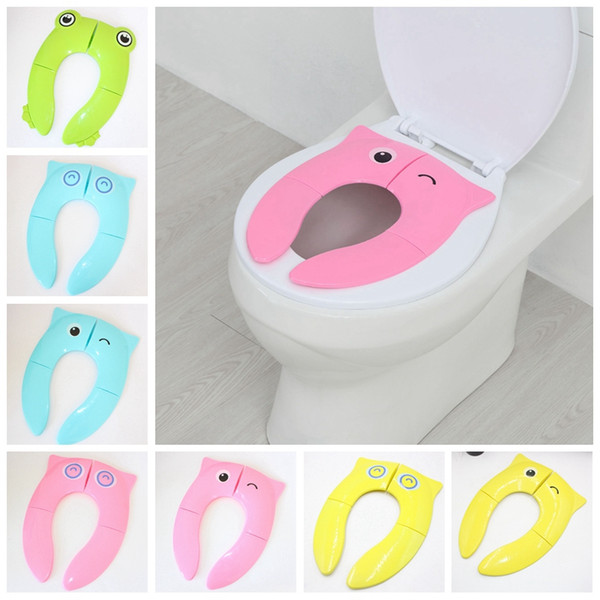 Sensational 2019 Baby Folding Toilet Training Seat Toddler Travel Portable Potty Seat Children Urinal Cushion Kid Pot Chair Pad Cartoon Owl Mat Dbc Vt0362 From Pabps2019 Chair Design Images Pabps2019Com