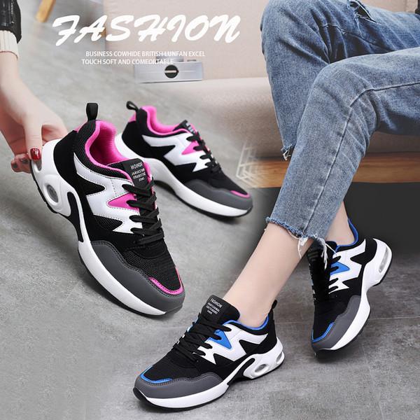 Charming2019 Air Season Almofada Estudante Coringa Joker Sneakers Chalaza Calçados Casuais Maré 33-41 Code