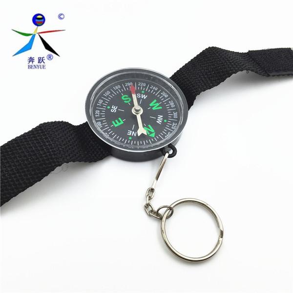 2016 nuovissimo orologio da polso tipo pulsante design bussola derection per arrampicata escursionismo campeggio all'aperto