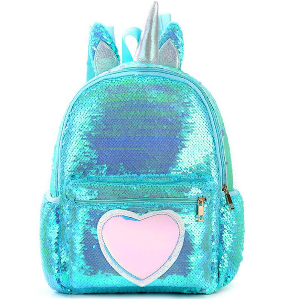 Étudiante School Filles Cartable Mignon Adolescente Bag De Mochila Pour Couro Licorne Sacoche Femme Packpack À Sac 2019 Sequins Acheter Enfant Dos 80wONymvn