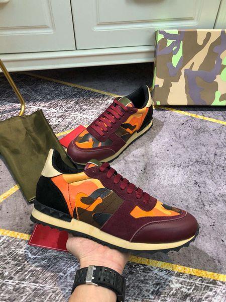 Women men Sneaker colour fashion Luxurys Designers Casual shoes Platform Trainers Walking sneakers size 35-46