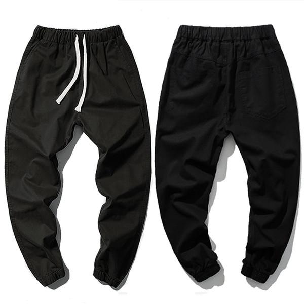 plus size 2xl-7xl 8XL 52 54 mens hip hop cotton sweatpants casual men casual long trousers large big size pants Drawstring