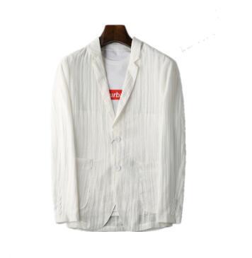 Manteau de costume blanc