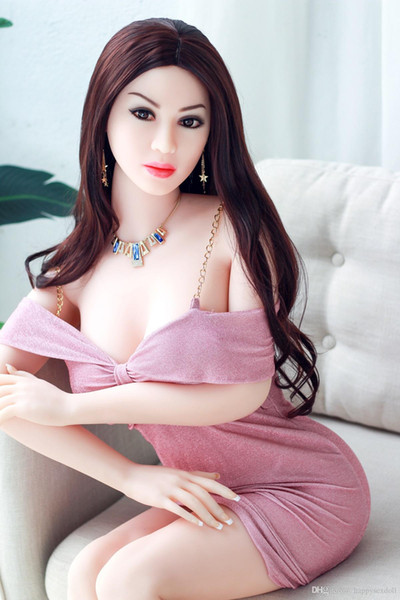 Realistic Sex Dolls Chinese Doll Manufacturers Cheap Price 158 cm Big Breast Ass Tan Skin Heated Silicone Sex Doll Warm For Men
