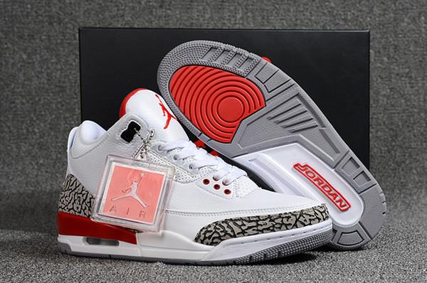 newest 62866 06a9f 2019 Nike Air Jordan Retro 3 Basketball Shoes 3s Jordan III Jordans Michael  Air Trainers Quai 54 Men Women Tinker Mocha JTH Mocha Charity Game Pure ...