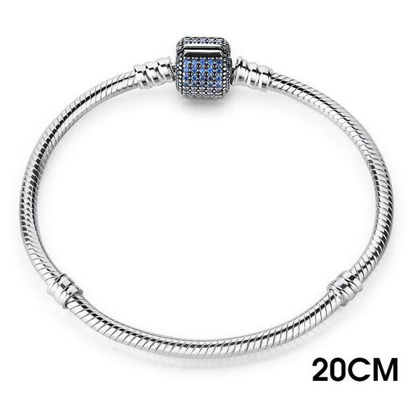 20 centímetros azuis