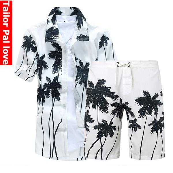 Mens Board Shorts & Beach Shirt Summer Swimwear Bermuda Surf Swimming For Men Boardshorts Trunks Sports Suits Swimshorts herren