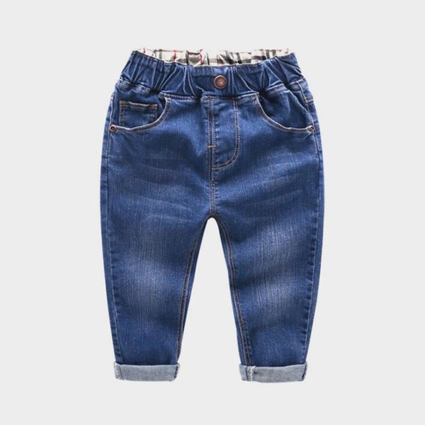 711b61df20 quality spring children boys denim jeans toddler boys casual jeans long  trousers party pants fashion high