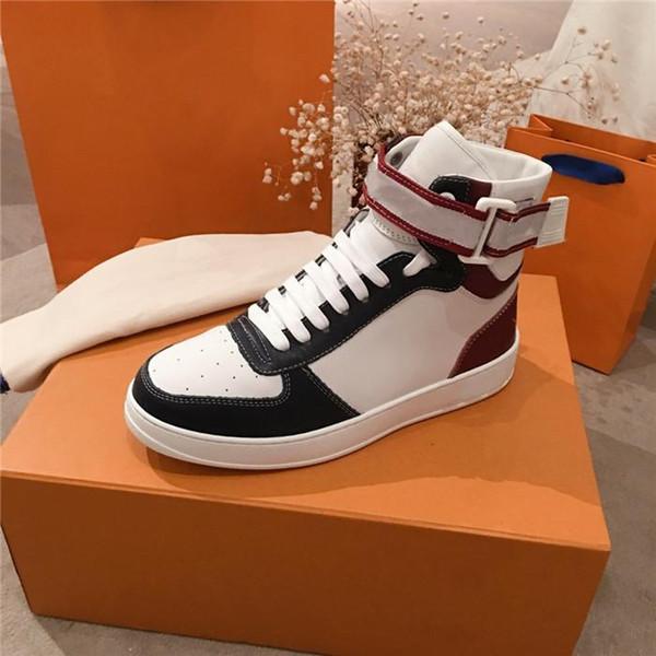 La dernière botte de baskets à la cheville en cuir, Unisexe Ace High Top Sneakers Speed Trainers avec taille de boîte 35-45