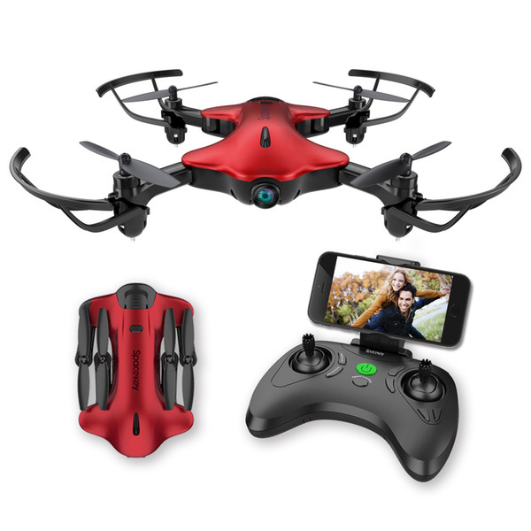 Drone for Kids Beginners, Spacekey FPV Wi-Fi Drone with Camera 720P HD, Quadcopter Drone with Altitud