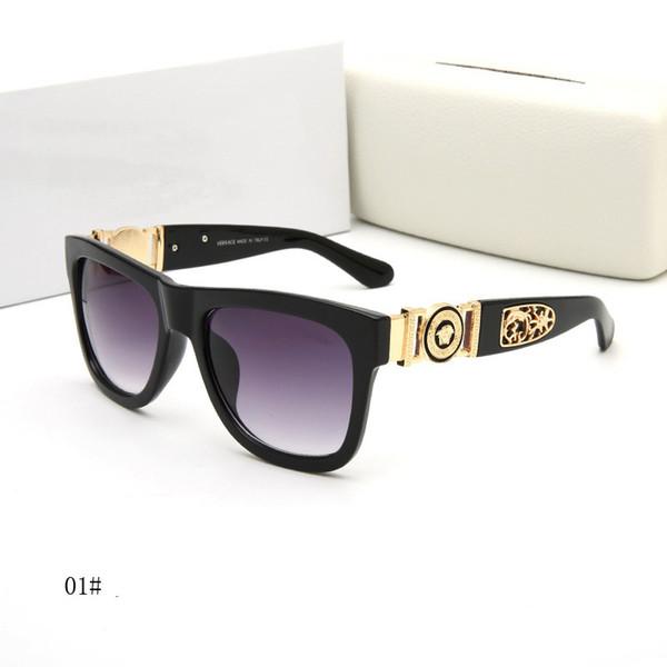47e391d419f  With Box  Fashion Sunglasses Luxury Designer Sunglasses Vintage Mens Brand  Designer Gold Frame Sun