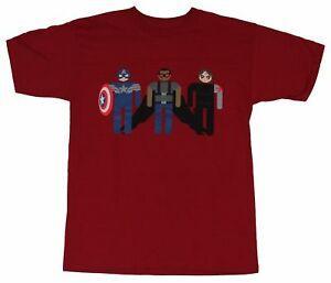 Capitão América Mens T-Shirt- Boné Simplificado Inverno Brandlider Falcon