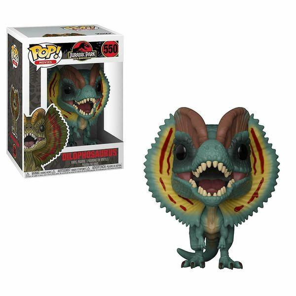 Funko Toys PoP Movies Jurassic Park Dilophosaurus Dinosaur 4in. Figure #550