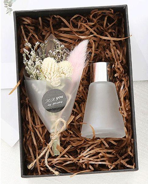 Wholesale Creative Home Fumigation Natural Dry Flower Bouquet Gift set prefer for bedroom living room car decor #366