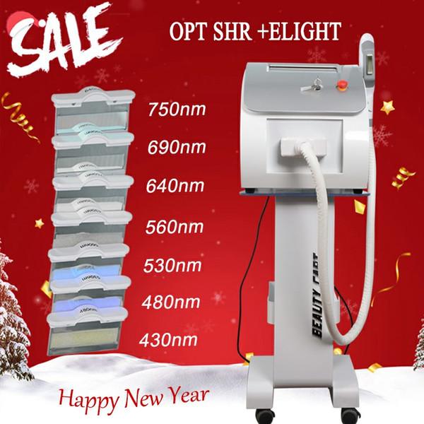 가장 인기있는 OPT SHR IPL 레이저 아름다움 장비 새로운 스타일 SHR IPL 기계 OPT AFT IPL 머리 제거 아름다움 기계 E 빛 피부 회춘
