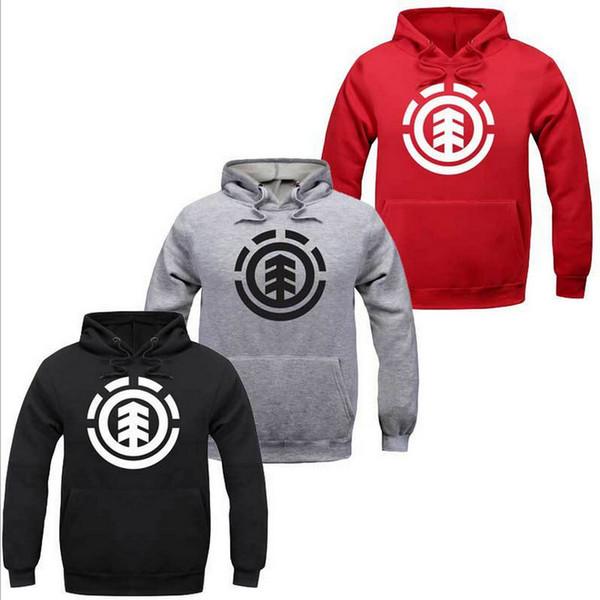2019 Brand! Fleece Hoody Pullover Sportswear Winter Mens Skateboard Hoodies Men Clothing Hip Hop Fish Bone Hoodies Sweatshirts Wholesale