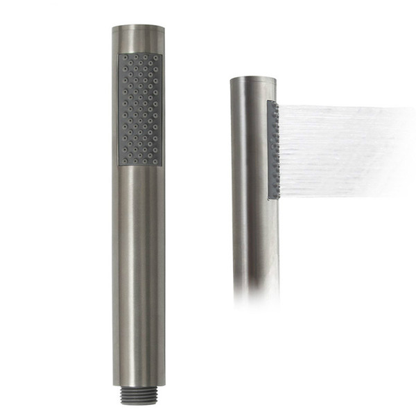 Stainless Steel Brushed Bathroom Handheld Shower Head Bath Sprinkler 1.5 Meter Shower Hose Wall Mounted Bracket