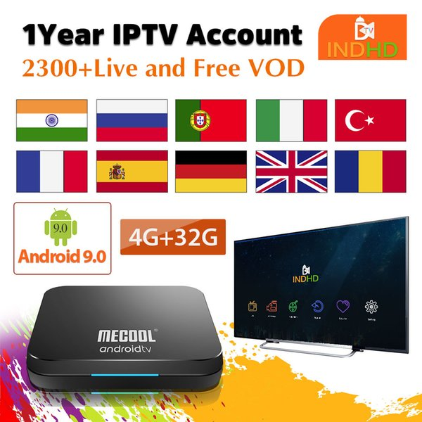 KM9 Pro Android Tv 9 0 Smart Tv Box With IPTV Subscription India Pakistan  Turkey Italy France Arabic Iptv Indian IP TV Box Online Tv I Tv Box From