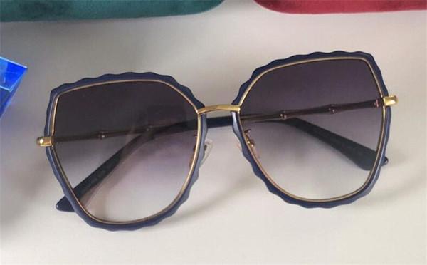 New fashion designer women sunglasses 0463 charming cat eyes frame simple popularselling style top quality uv400 protection eyewear