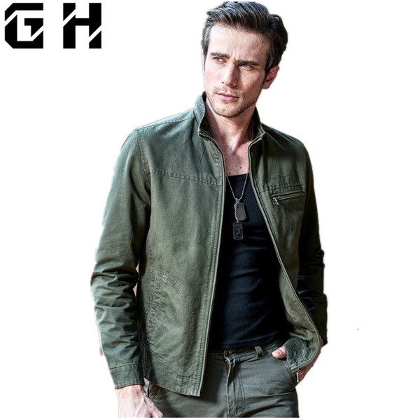 Mens Tactical Jacket Army Clothes Bomber Airborne Division Pilot Jeans Jacket Working Clothes