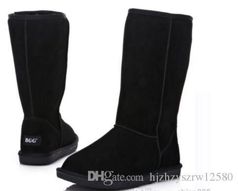 Air SHIPPING High Quality BGG Women's Boots Womens tall boots Boot Snow Winter boots